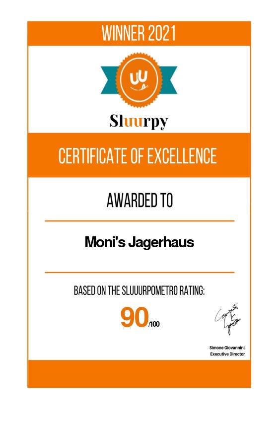 Moni's Jagerhaus - Sluurpy